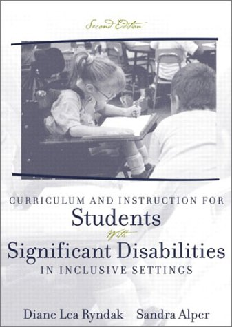 Curriculum and Instruction for Students with Significant...