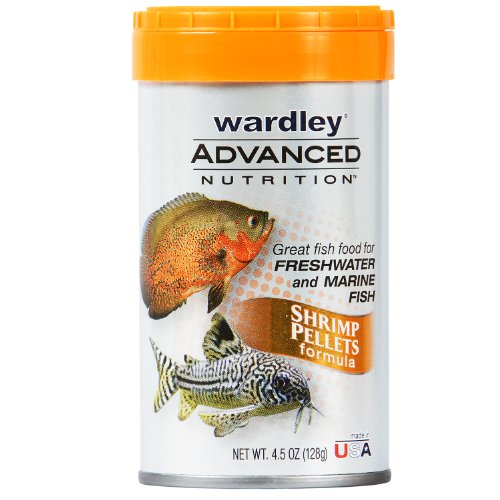 Hartz Wardley Advanced Nutrition Shrimp Pellets, 4.5 Ounce