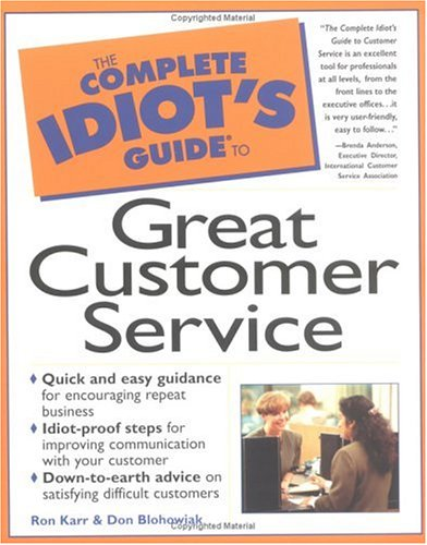 Image for The Complete Idiot's Guide to Great Customer Service