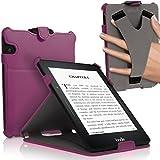IGadgitz Premium Executive PU Leather Case Cover for Amazon Kindle Voyage 7th Generation - Purple
