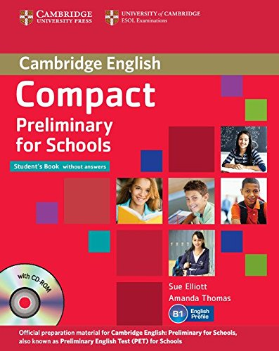 Compact preliminary for schools. Student's book-Workbook. Without answers. Con espansione online. Per le Scuole superiori. Con CD-ROM. Con CD Audio