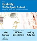 img - for Usability: The Site Speaks for Itself book / textbook / text book