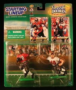 WARRICK DUNN TAMPA BAY BUCCANEERS & MIKE ALSTOTT TAMPA BAY BUCCANEERS 1999-2000... by Starting Line Up
