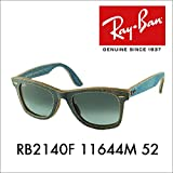 【レイバン国内正規品販売店】 Ray-Ban (レイバン)サングラス RB2140F 11644M 52 伊達メガネ 眼鏡 DENIM WAYFARER デニム ウェイファーラー ウェリントン フレームカラー:ジーンズアズール レンズカラー:ブルーグラデーショングレー