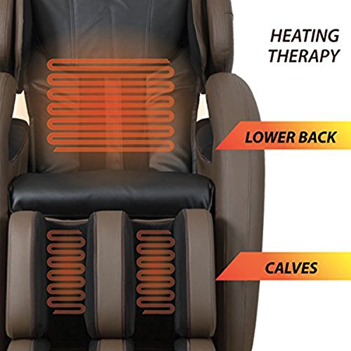 Full-Body Zero Gravity Space Saving L-Track Kahuna Massage Chair Recliner LM6800 with...