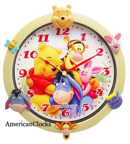 Winnie The Pooh Wall Clocks