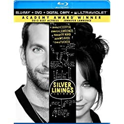Silver Linings Playbook (Two-Disc Combo Pack: Blu-ray + DVD + Digital Copy + UltraViolet)