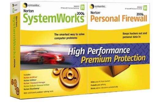 Norton SystemWorks Personal Firewall 2004 BundleB0000C9WFW