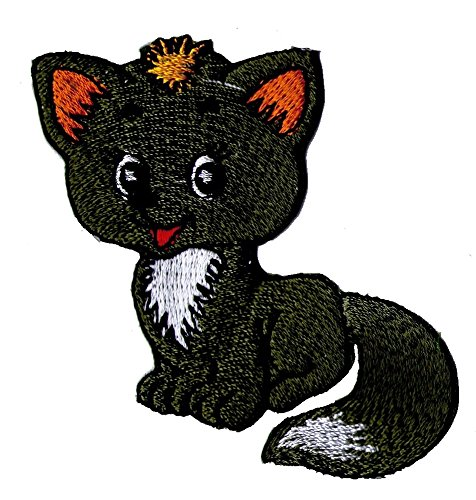 fox-kids-clothing-embroidered-iron-on-patch-applique-decoration-crocodile-teddy-panda-funny-animals-
