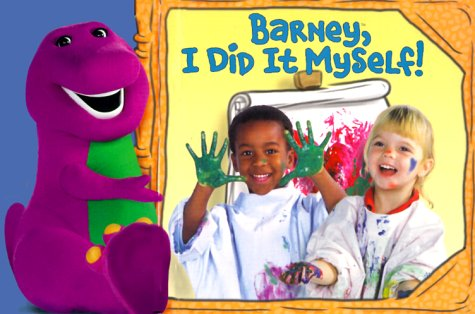 I Did It Myself (Barney) back-1075269