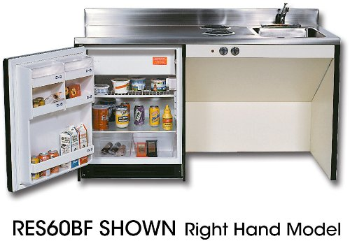 Res63Bf Compact Kitchens With Stainless Steel