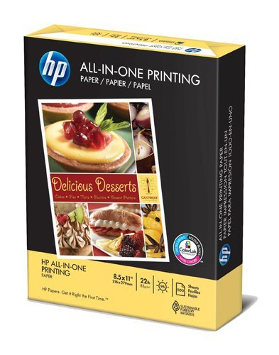 HP All-in-One Printing Paper, 96 Brightness,