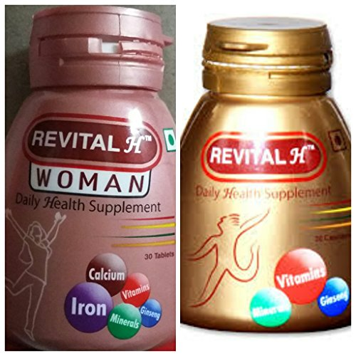 Ankit Agencies Energy Capsules From ranbaxy Revital For Unisex - 60 Tablets (30 Tablets in 1 Packet)  available at amazon for Rs.560