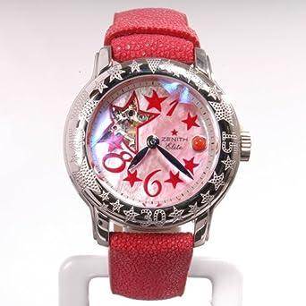 Zenith Ladies' Baby Star Open Sea Elite El Primero Red MOP Chronograph Watch