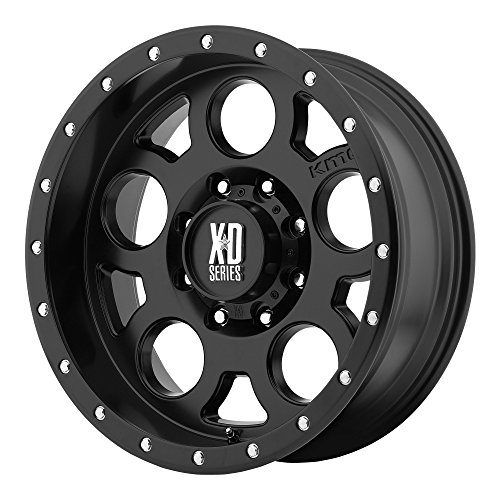XD Series by KMC Wheels XD126 Enduro Pro Satin Black Wheel (17x9