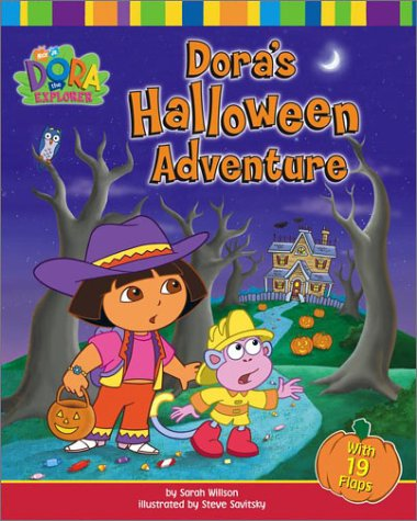 Dora's Halloween Adventure (Dora the Explorer (Simon & Schuster Board Books))