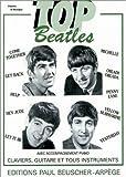 echange, troc Beatles - Partition : Top Beatles