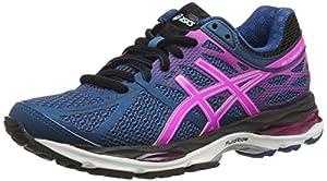 ASICS Gel-Cumulus 17 (2A), Women's Training Running Shoes, Blue (Mosaic Blue/Pink Glow/Onyx 5335), 6 UK (39 1/2 EU)