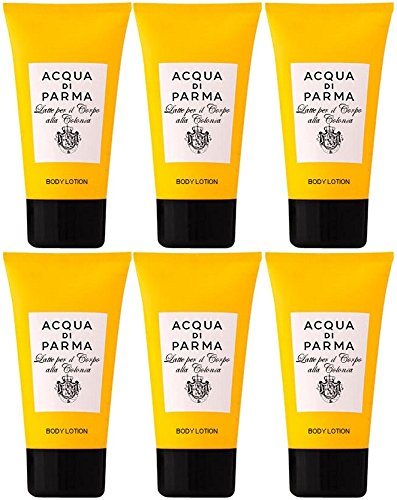 acqua-di-parma-colonia-body-lotion-6-x-40ml-travel-size-total-240ml