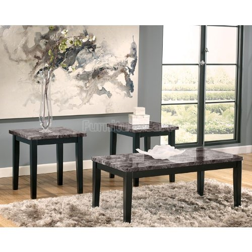 Buy Black Marble Square Coffee Table Gun Metal Base At: Buy Low Price Contemporary Faux Marble Occasional Accent
