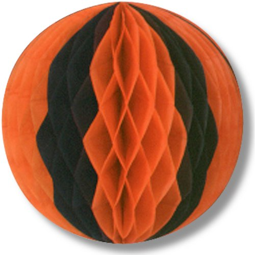 Beistle Pkgd Tissue Ball for Halloween Party, 12-Inch