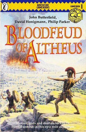 Blood Feud of Altheus (Puffin Adventure Gamebooks)