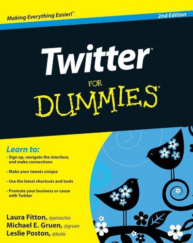 Twitter For Dummies (For Dummies (Computer/Tech))