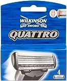 Wilkinson Sword Quattro Razor Blades - Pack of 4
