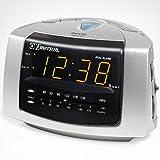 radio alarm clocks emerson dual alarm clock radio ck5051 review. Black Bedroom Furniture Sets. Home Design Ideas