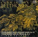 ベートーヴェン:弦楽四重奏曲第4番&第14番