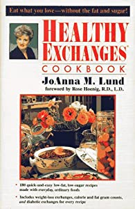"""Cover of """"Healthy Exchanges Cookbook"""""""