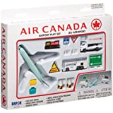 Real Toys Air Canada 12 Piece Airport Playset Toy