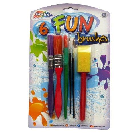 divertimento-pittura-e-arte-spazzole-confezione-da-6-pennelli-spessi-sottili-pennelli-pennello-spugn