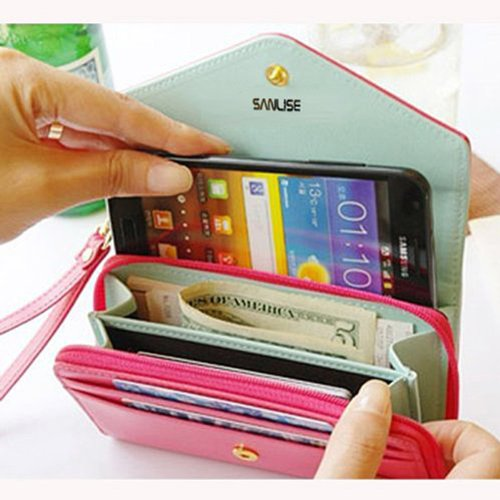 Sanlise New Multifunctional Envelope Wallet Purse