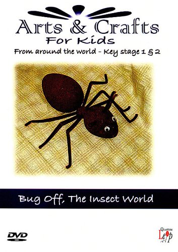 Arts And Crafts For Kids - Key Stage 1&2 - Bug Off - The Insect World [Edizione: Regno Unito]