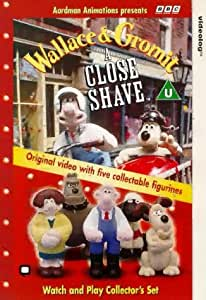 Wallace And Gromit A Close Shave Fun Box Vhs Nick