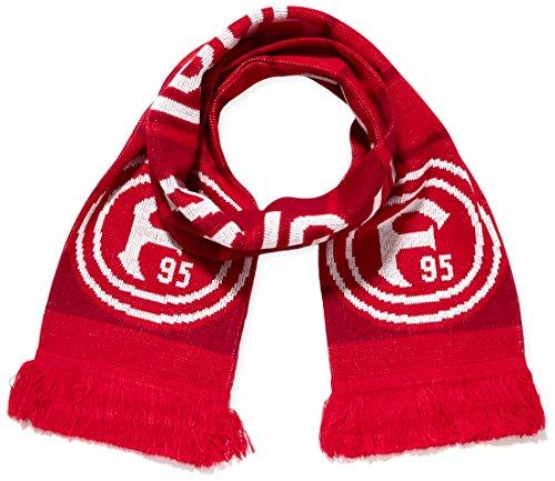 Puma, Sciarpa Fortuna Düsseldorf Fanscarf, Rosso (Red/White/Black), Taglia unica