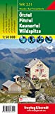 Otztal-Pitztal-Kaunertal Hiking Map 1:50K FB (Austria) (Hiking Maps of the Austrian Alps) (English, French and German Edition)