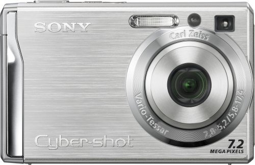 Sony Cybershot DSC-W80 is one of the Best Ultra Compact Point and Shoot Digital Cameras for Child and Low Light Photos Under $200