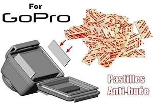 Pack 40 pastilles anti-buée pour caméra Gopro Hero 1 & hero 2 & hero3 & hero3+ & Hero4 (Kit anti-buée Go Pro, Anti-Fog Inserts antibuée) WINUP®