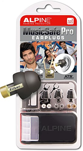 Alpine MusicSafe Pro Hearing Protection System for Musicians, Black (Alpine Hearing Protection Pro compare prices)