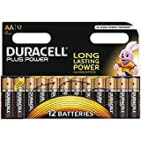 Duracell MN1500 Plus Power AA Size Batteries--Pack of 12