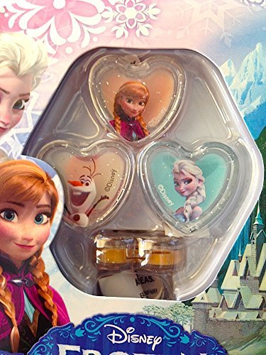 Disney Frozen 4 Pack Lip Balm Rings