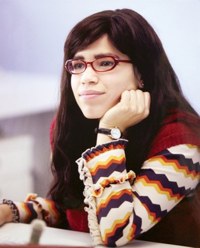 ugly betty makeover. america ferrera ugly betty