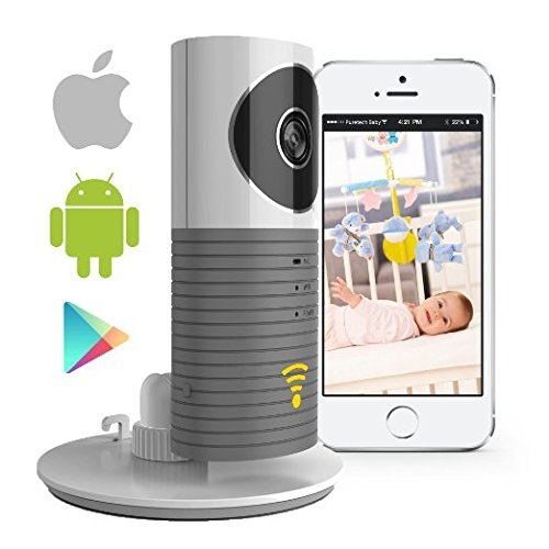 Video-Baby-Monitor-Camera-Compatible-With-iPhone-Android-Wifi-Enabled-Nanny-Cam-2-Way-Talkback-With-Motion-activated-Cell-Alerts-Ash-Gray