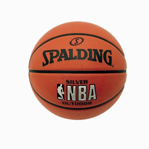 Spalding NBA Silver Logo Small Outdoor Basketball