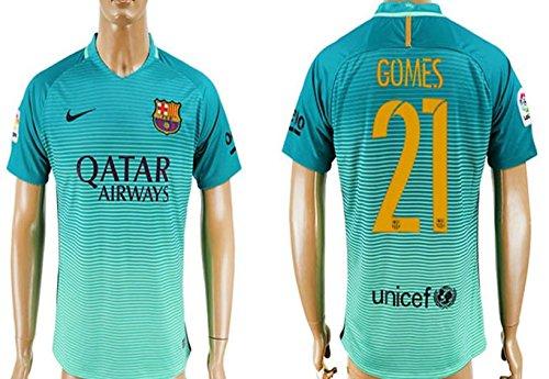 21-gomes-trikot-barcelona-shirt-2016-2017-mens-short-sleeve-jersey-green-size-s
