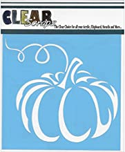 Clear Scraps Pumpkin Stencils 12 by 12quot