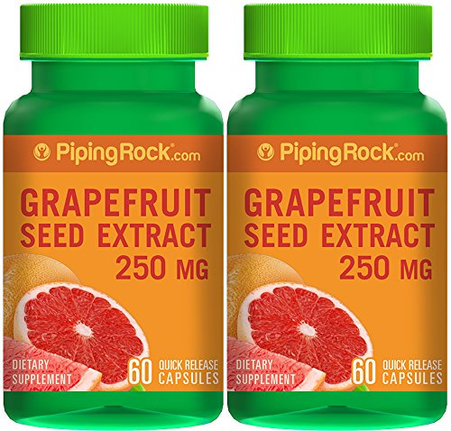 Grapefruit Seed 250 mg 2 Bottles x 60 Capsules (Grapefruit Seed Extract Nasal compare prices)
