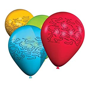 George's Fun Factory Willy Blow Me Balloons, 8 count